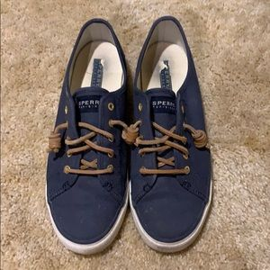 Sperry navy sneakers!! Size 9